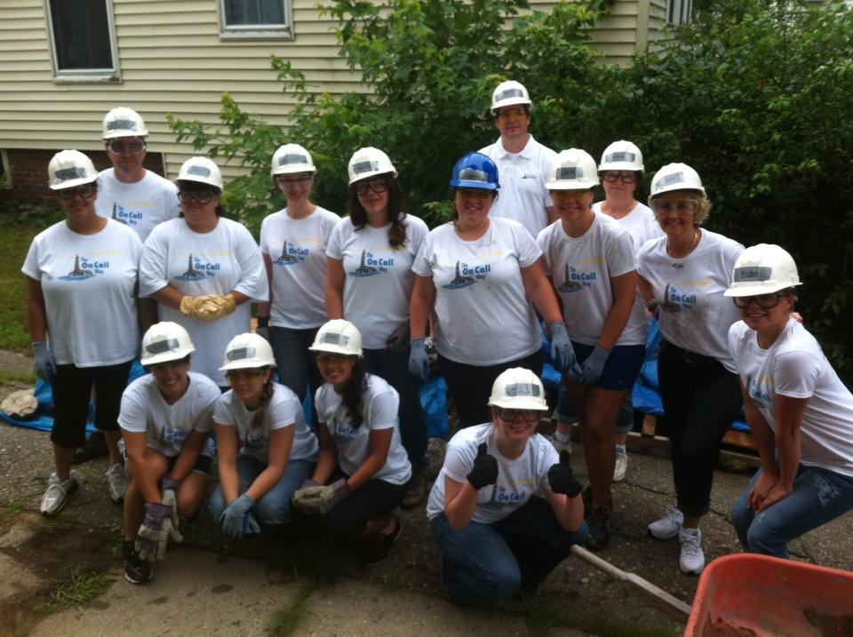 On Call Joins With Habitat for Humanity