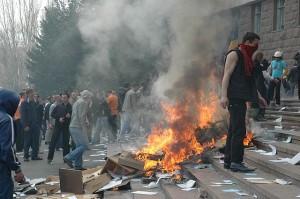 Civil unrest in Moldova