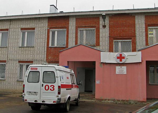 Hospital in Arzamas, Russia