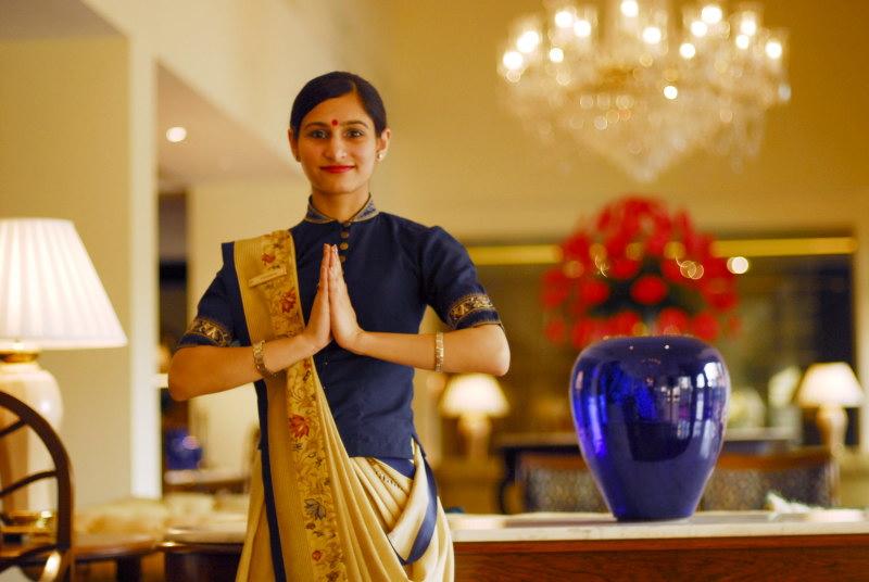 Hotel employee, Namaste