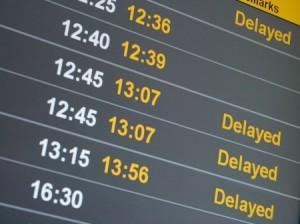 Flight delay board