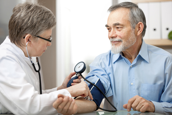 Travel assistance helps man with blood pressure problems