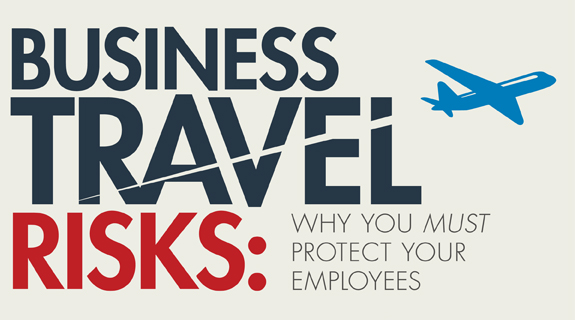 Business Travel Risks: What Companies Need to Know [INFOGRAPHIC]