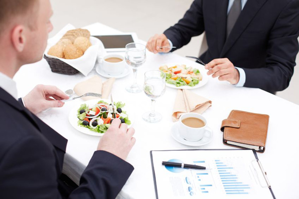 dining business etiquette