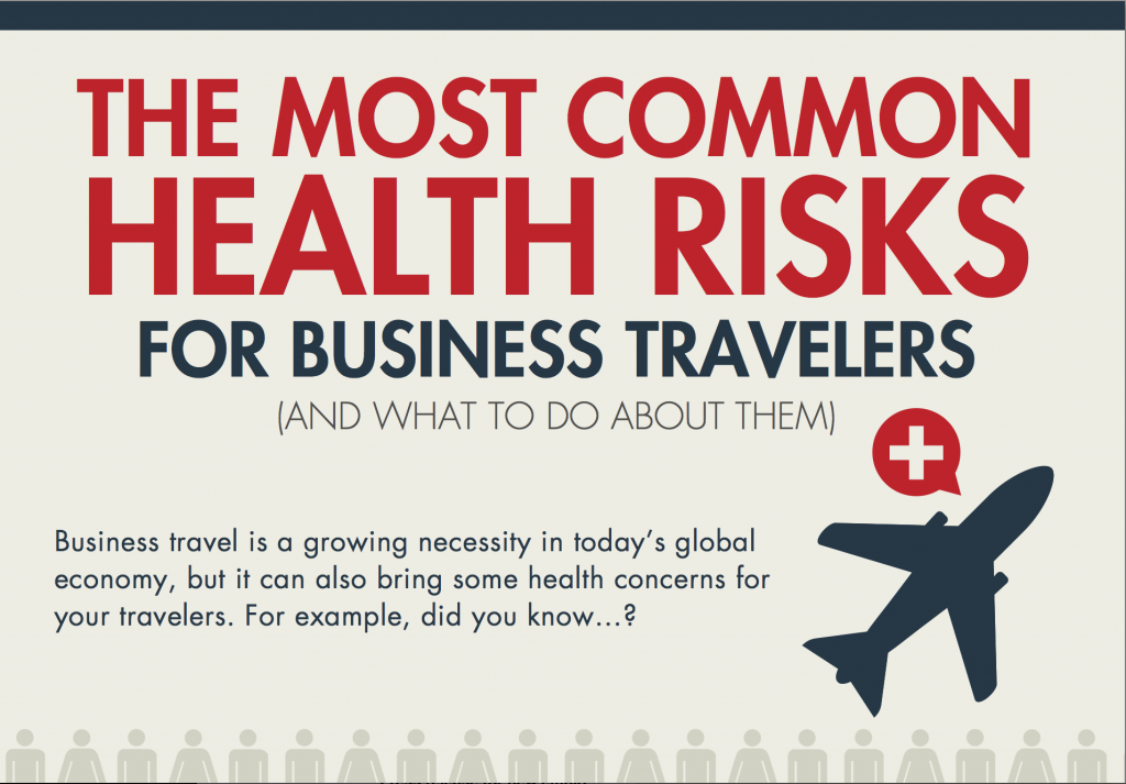 The Most Common Health Risks for Business Travelers [INFOGRAPHIC]