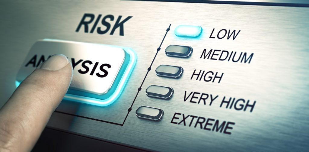 Risks analyze, low risk