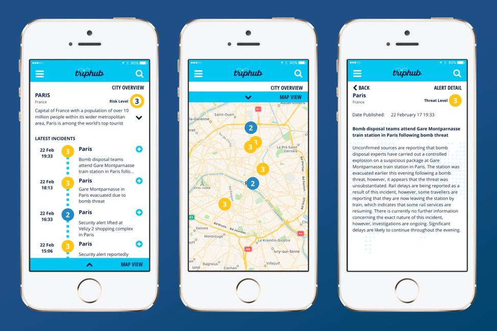 on call trip hub app