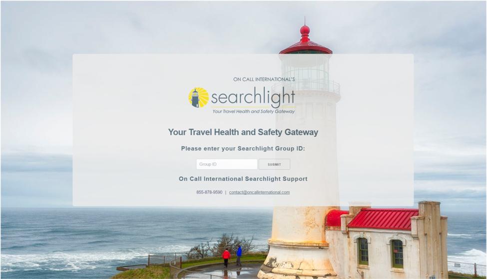 On Call International Searchlight Portal