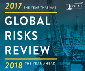 Growing Opportunities, Growing Risks: On Call's 2017-2018 Global Risks Review