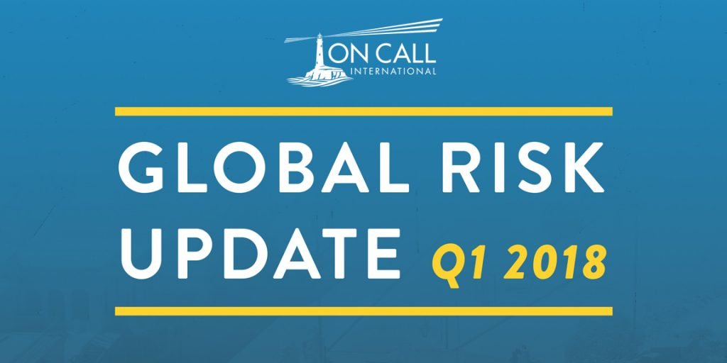 Trends & Developments in Global Risk [Free Q1-2018 Report]