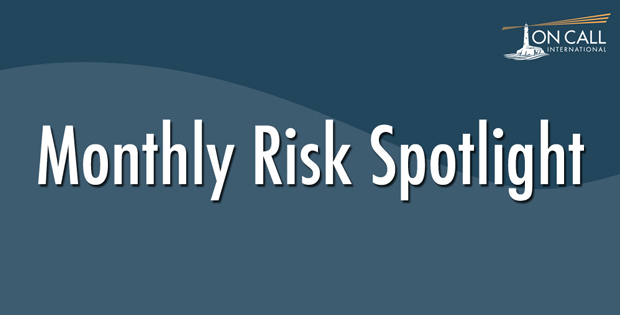 Monthly Risk Spotlight: March