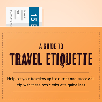 A Simple Guide to Travel Etiquette [INFOGRAPHIC]